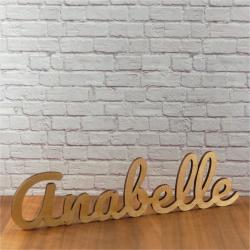 Mot ou prénom de 6 à 8 lettres hauteur 7 cm