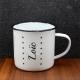 Mug vintage prénom étoiles