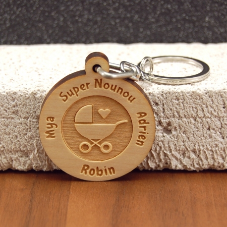 Porte clés  super nounou