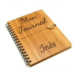 Carnet bambou mon journal