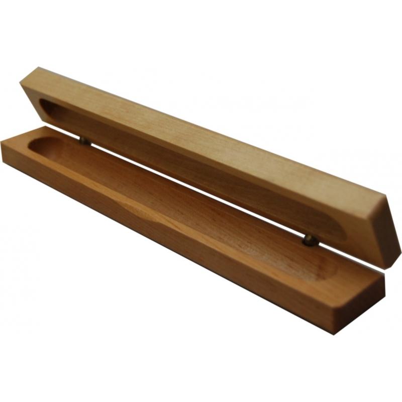 ecrin en bois 1 stylo autour du pr nom. Black Bedroom Furniture Sets. Home Design Ideas