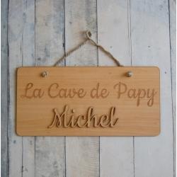Pancarte la cave de papy