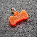 Médaille os PM  fluo orange