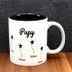Mug céramique gravé papy petites étoiles