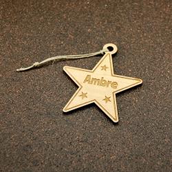 Décoration étoile