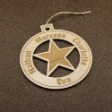 Grande décoration multi prénoms étoile