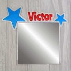 """Miroir """"étoiles"""""""