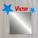 Miroir personnalisé étoile