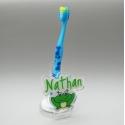 Support  brosse à dents grenouille