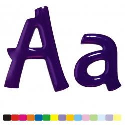 Lettre couleur bubblegum