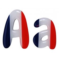 Lettre drapeau français