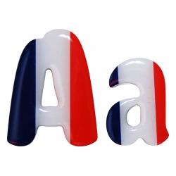 Lettre drapeau français chela one