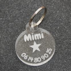 Médaille ronde étoile GM
