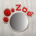 Miroir personnalisé  bulle
