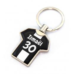 Porte clés métal maillot