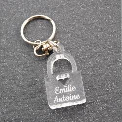 Porte clés cadenas