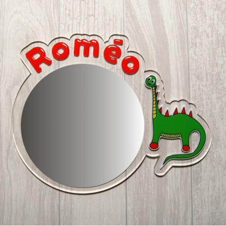 Miroir dinosaure