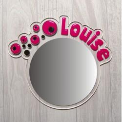 Miroir bulles de savon