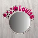 Miroir personnalisé mini bulle