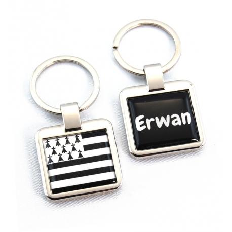 Porte clés drapeau breton
