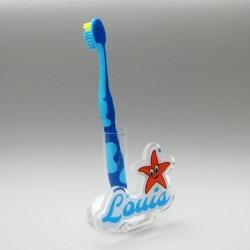 Support  brosse à dents étoile
