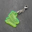 Zip basket vert fluo