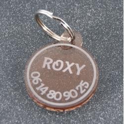 Médaille ronde fumé bronze GM