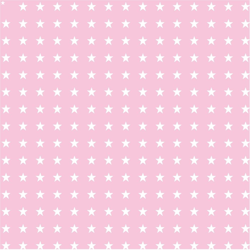 Etoile rose pastel