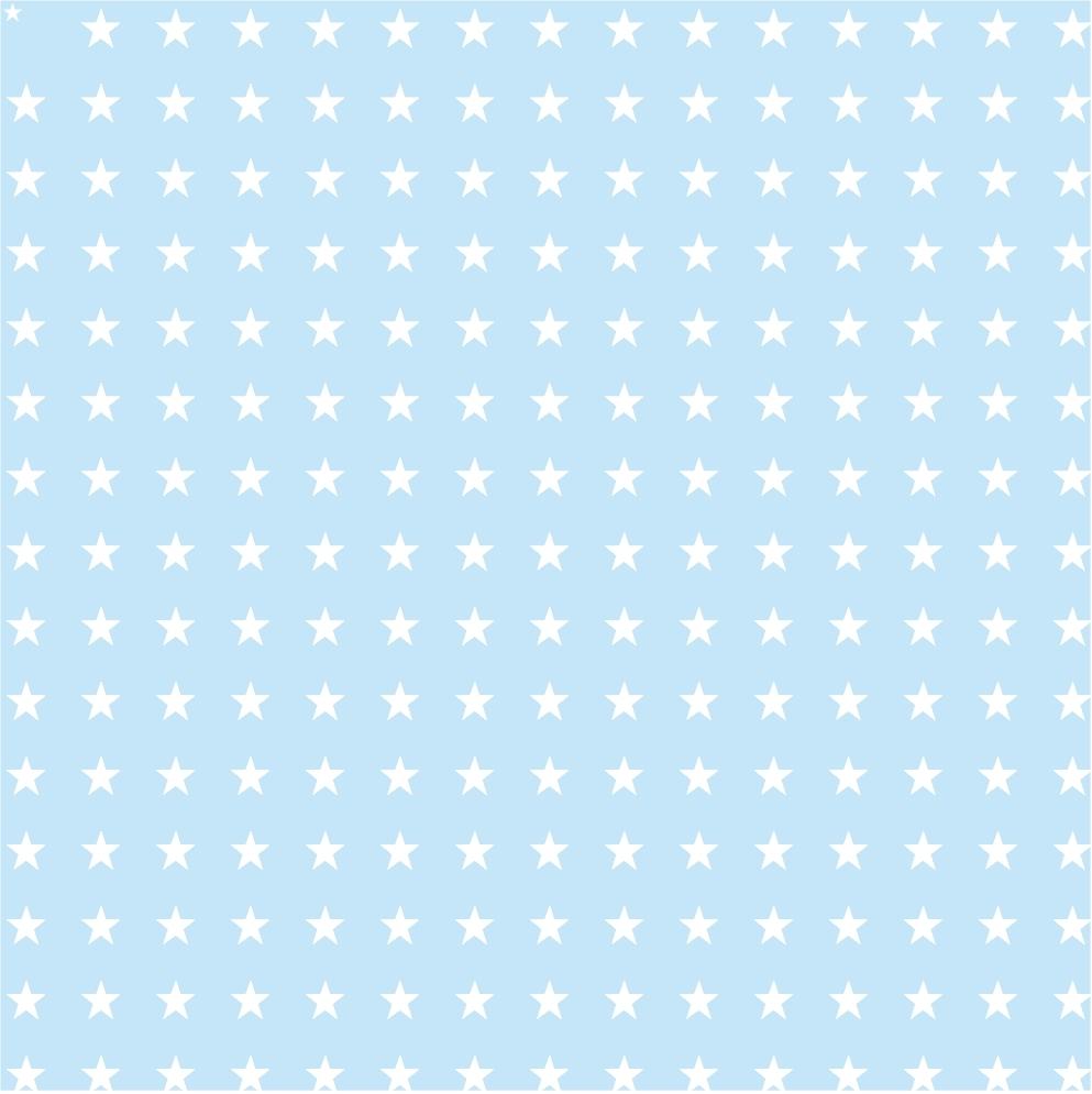 Etoile bleu pastel