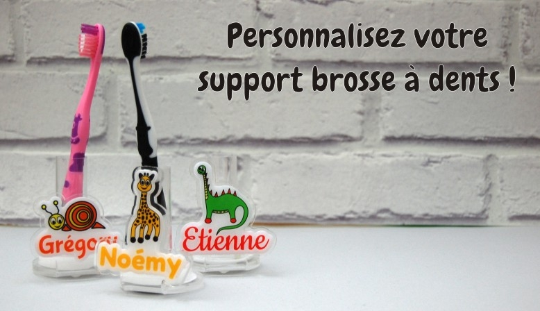Support brosse à dents